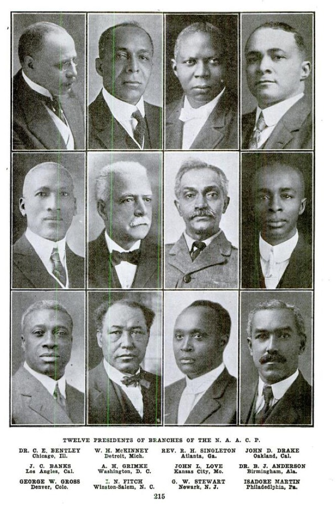 Twelve Presidents of Branches of the N.A.A.C.P.