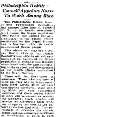 Philadelphia Tribune Nurse to Work Among Race.pdf