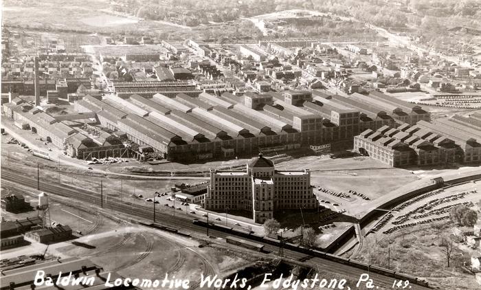 Baldwin Locomotive Works, Eddystone, PA