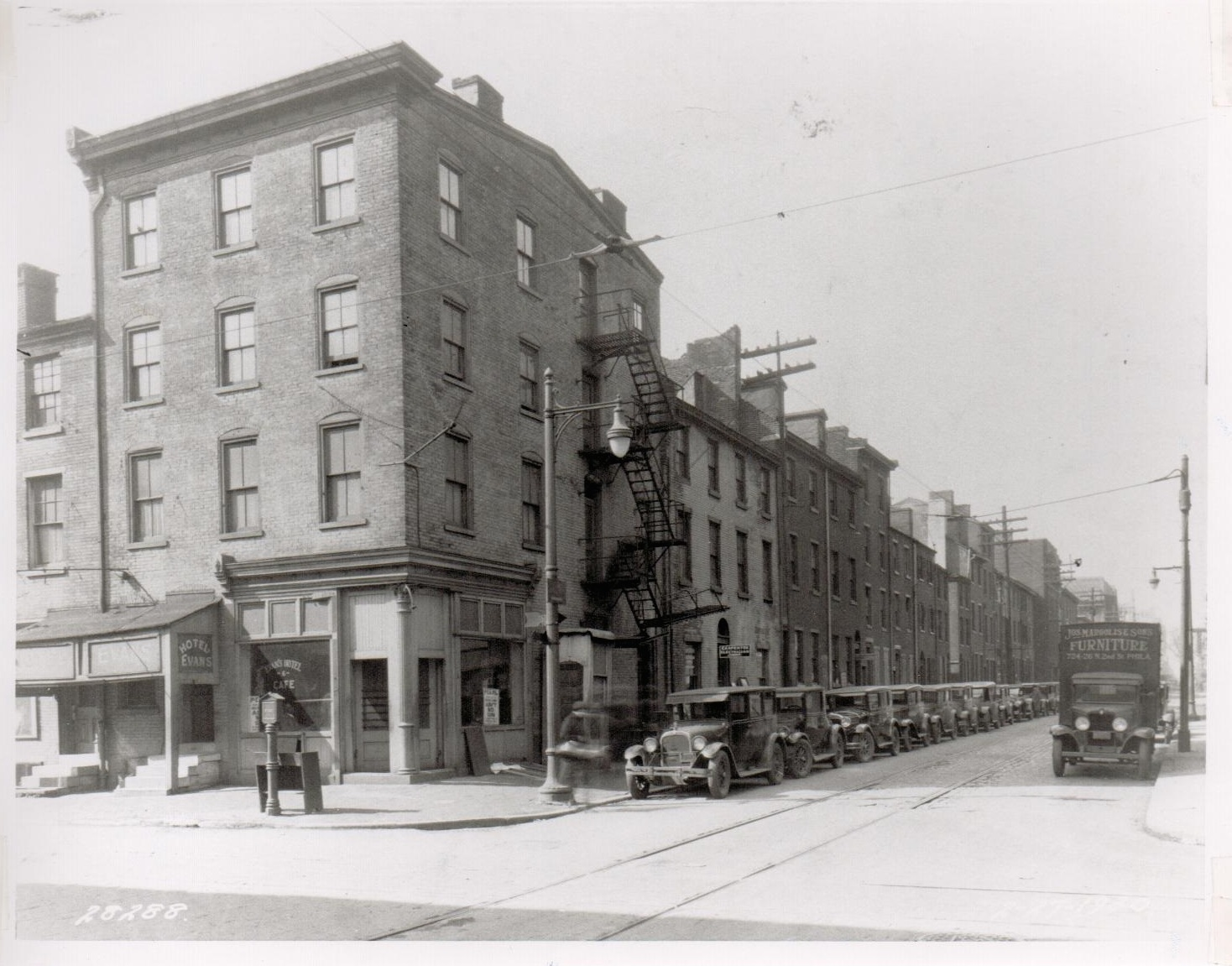 The corner of 13th and Lombard  Streets, Philadelphia, PA