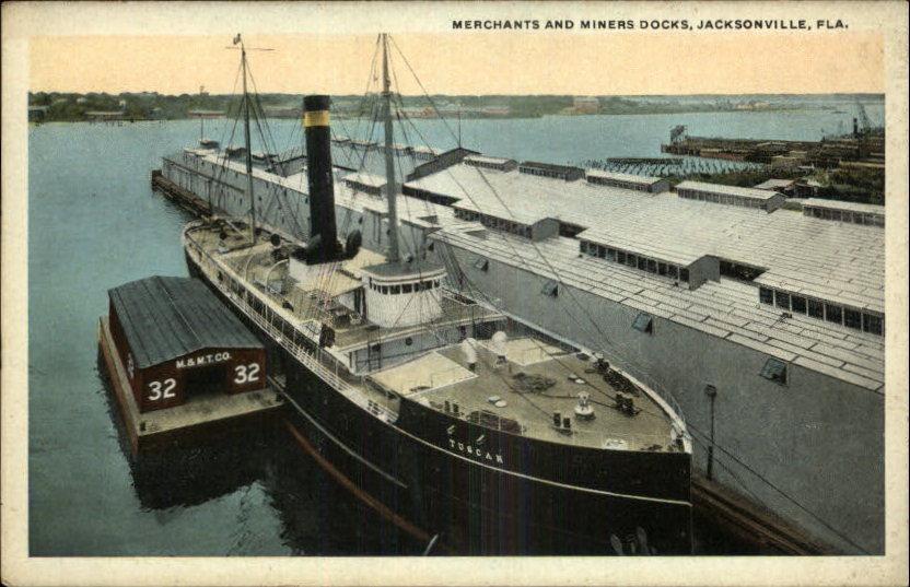 Merchants and Miners Docks, Jacksonville, FL