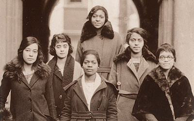 Members of Delta Sigma Theta Sorority, Gamma Chapter, University of Pennsylvania, 1921